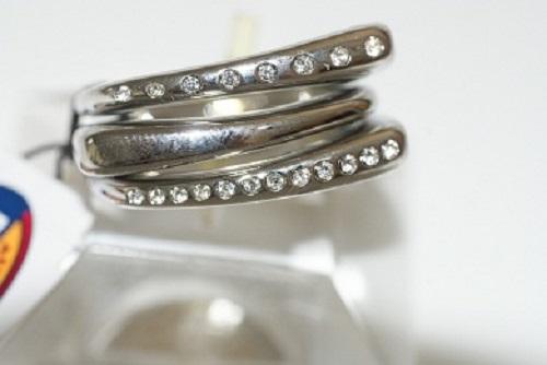 FOSSIL-Damen-Edelstahl-Ring-JF84411-Besatz-Zirkonia-top-design-18-180-56-NEU